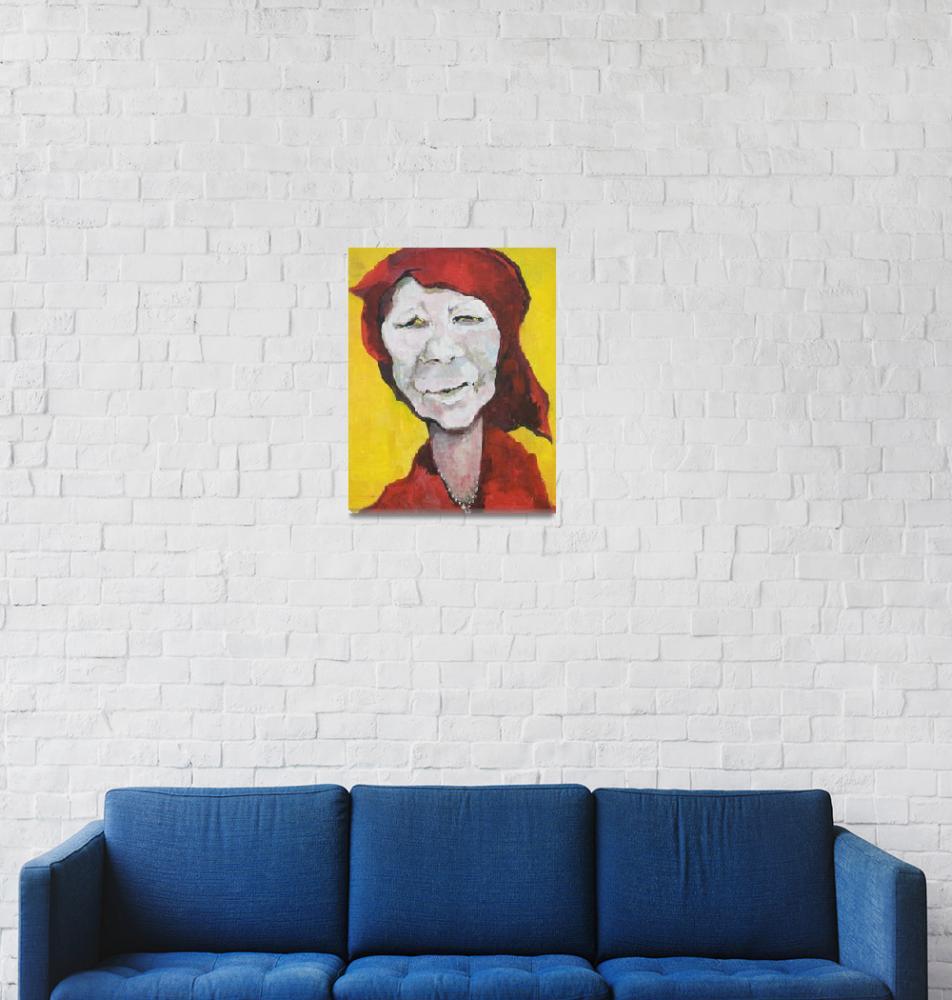 """""""4. Red Doek Shaman 2010""""  (1980) by GustavKaltenbrun"""