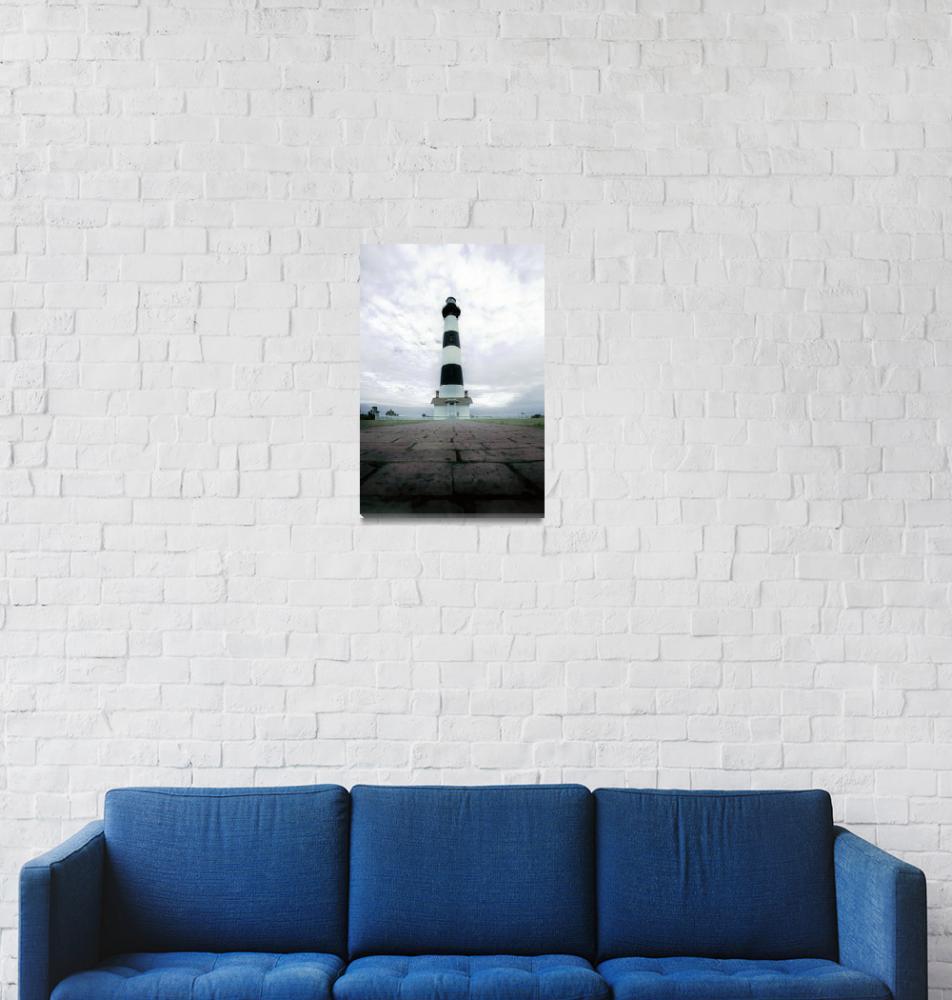 """bodie island lighthouse""  (2008) by digidreamgrafix"