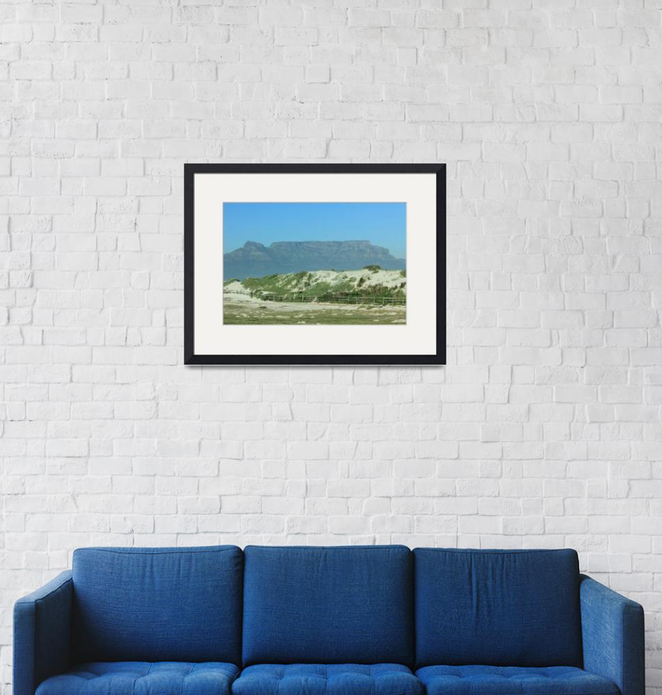 """""""Table Mountain, Cape Town 7654""""  (2013) by rayjacque"""