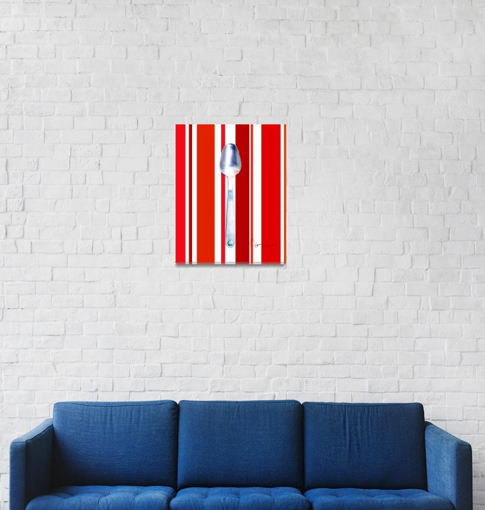 """Stripey Spoon""  by ellsworth"
