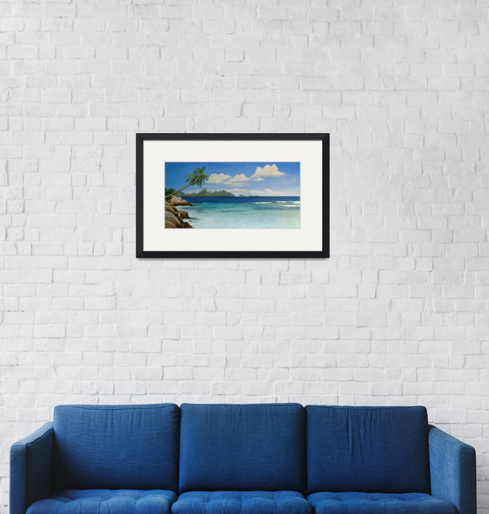 """""""I Dream of Seychelles""""  (2011) by camilleyoungquist"""