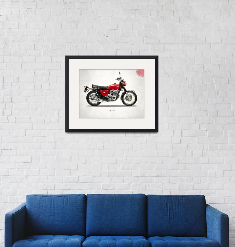 """The Honda CB750 Classic Motorcycle""  by mark-rogan"