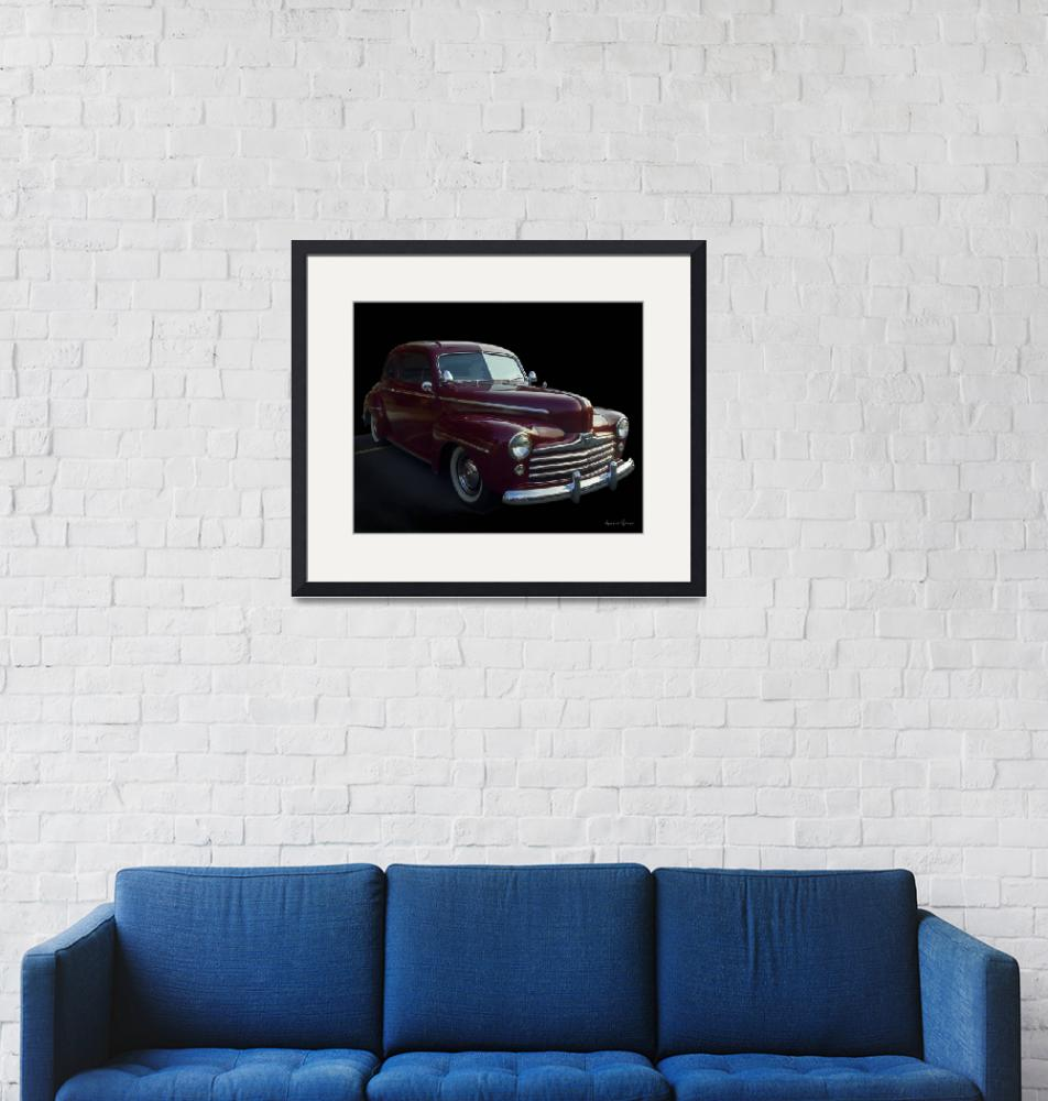 """""""1946 Ford""""  (2018) by LouiseReeves"""