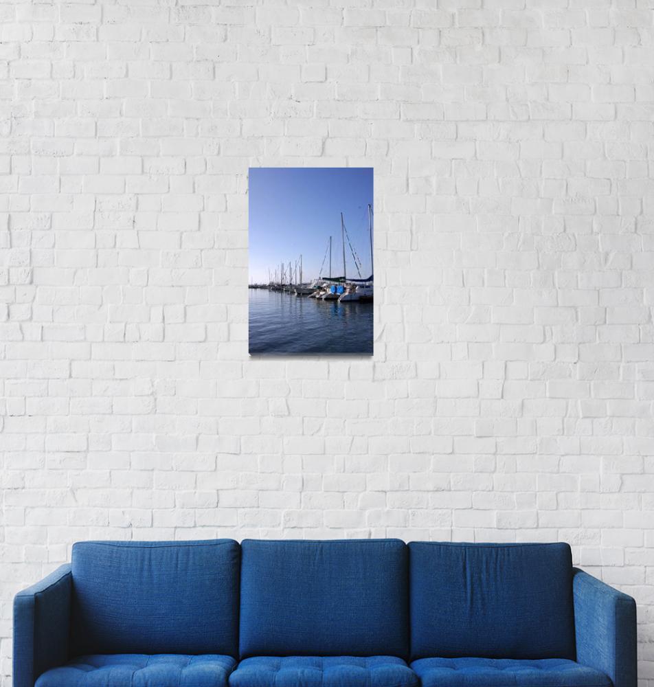 """Harbor Light""  (2009) by KatherineVerduzco"