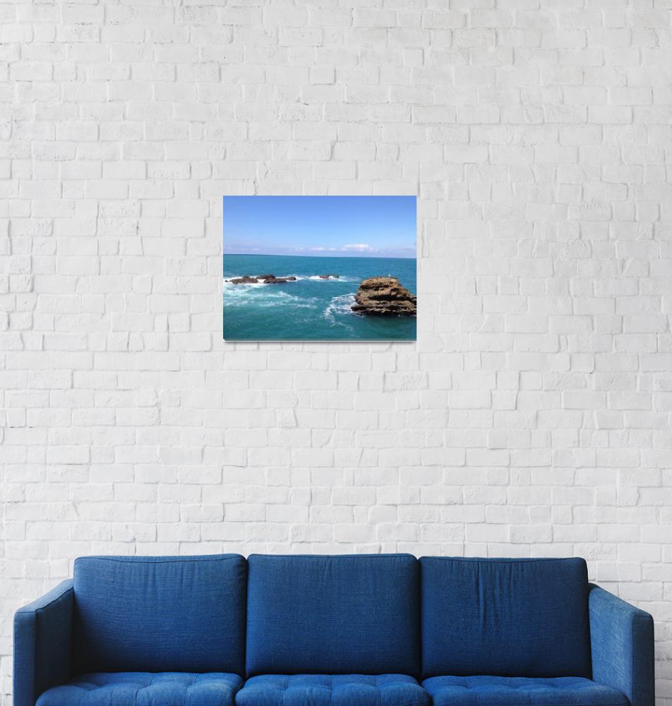 """Biarritz, France Ocean10""  (2012) by argaito"