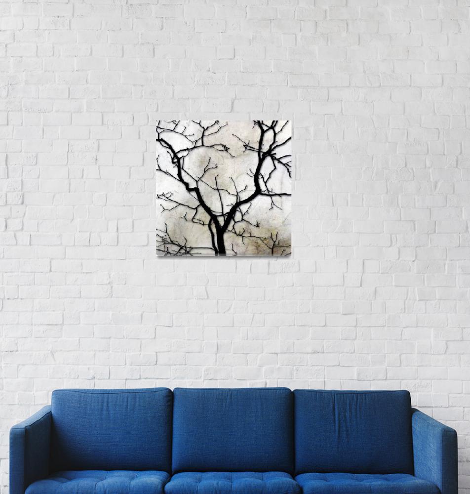 """Forked Tree""  (2009) by FantaSeaArt"