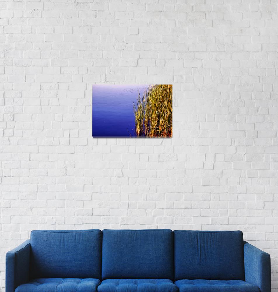 """Blue Calm""  (2010) by BrianKerls"