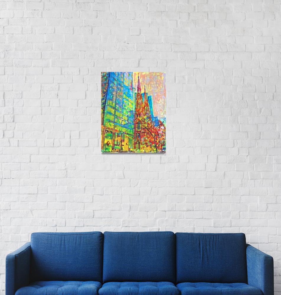 """New York City Fifth Avenue Manhattan""  (2018) by RDRiccoboni"