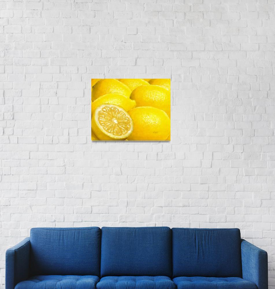 """Celebration in Lemon Yellow""  by Tim"