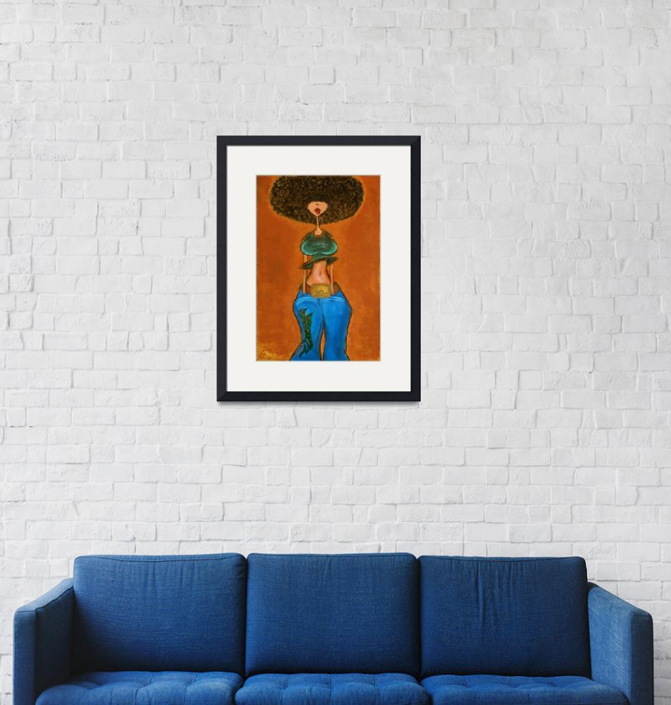 """""""Afro AfroCentric""""  (2005) by Xsudez"""
