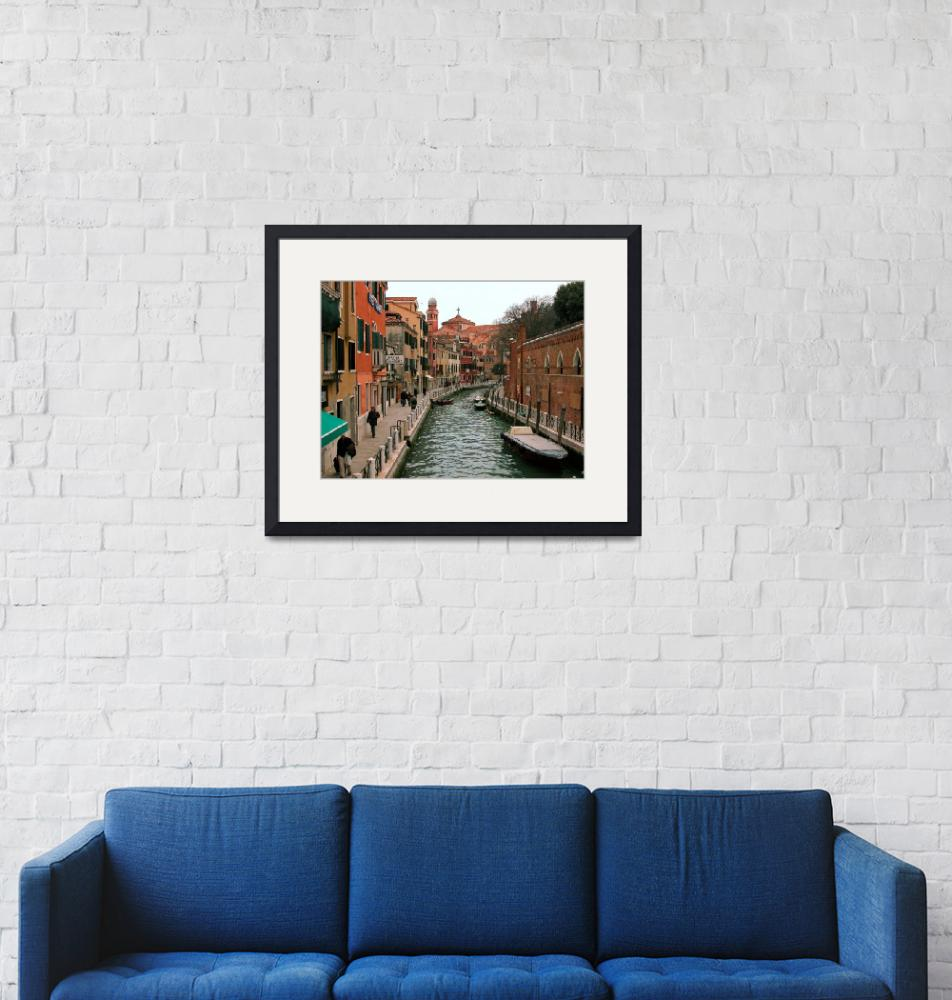 """""""Venetian Canal"""" (2009) by martinographics"""