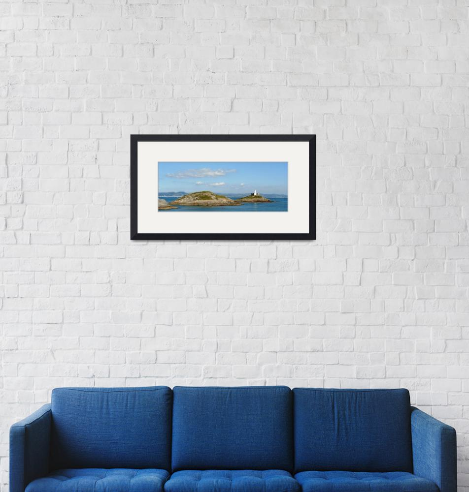 """Mumbles Lighthouse""  (2007) by DaveRees"