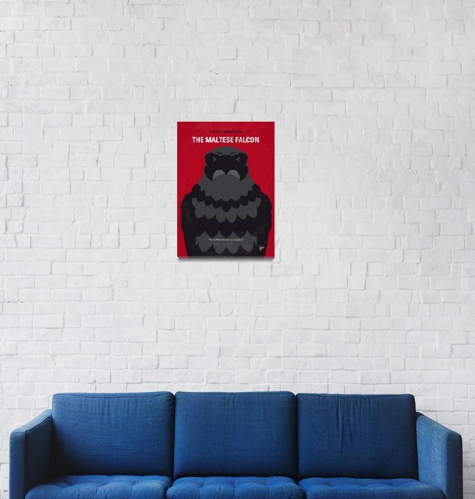 """No780 My The Maltese Falcon minimal movie poster""  by Chungkong"