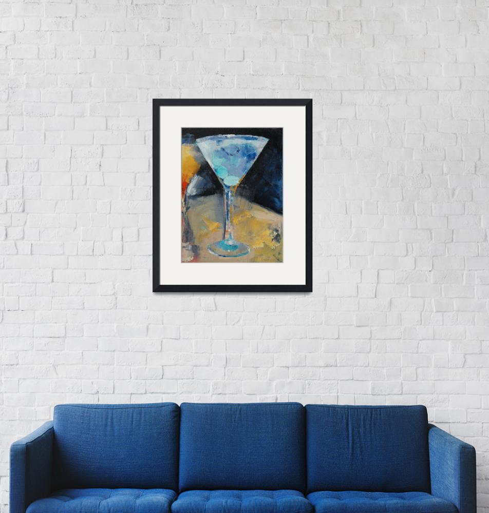 """""""Blue Art Martini"""" by creese"""