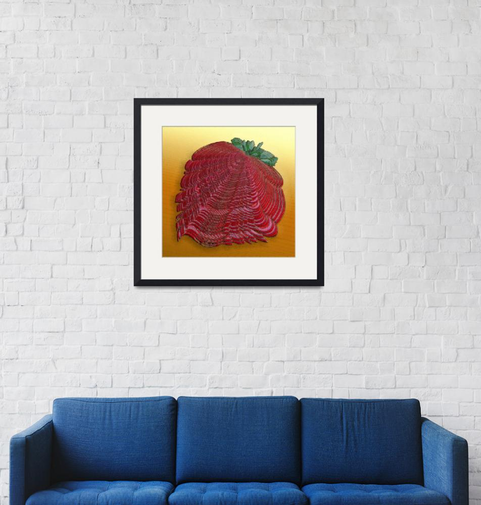 """Large Strawberry Scallop""  (2008) by Markomarko"