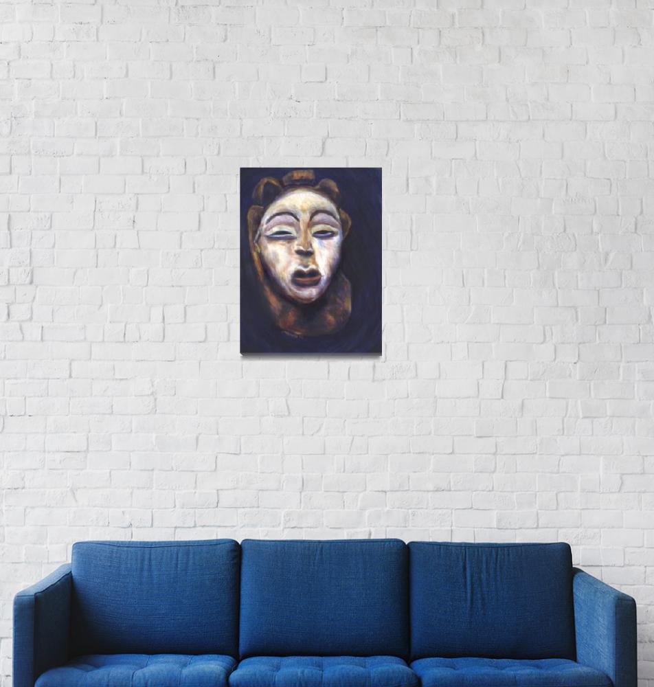 """""""Gelede Mask""""  (1996) by SMcElwee"""