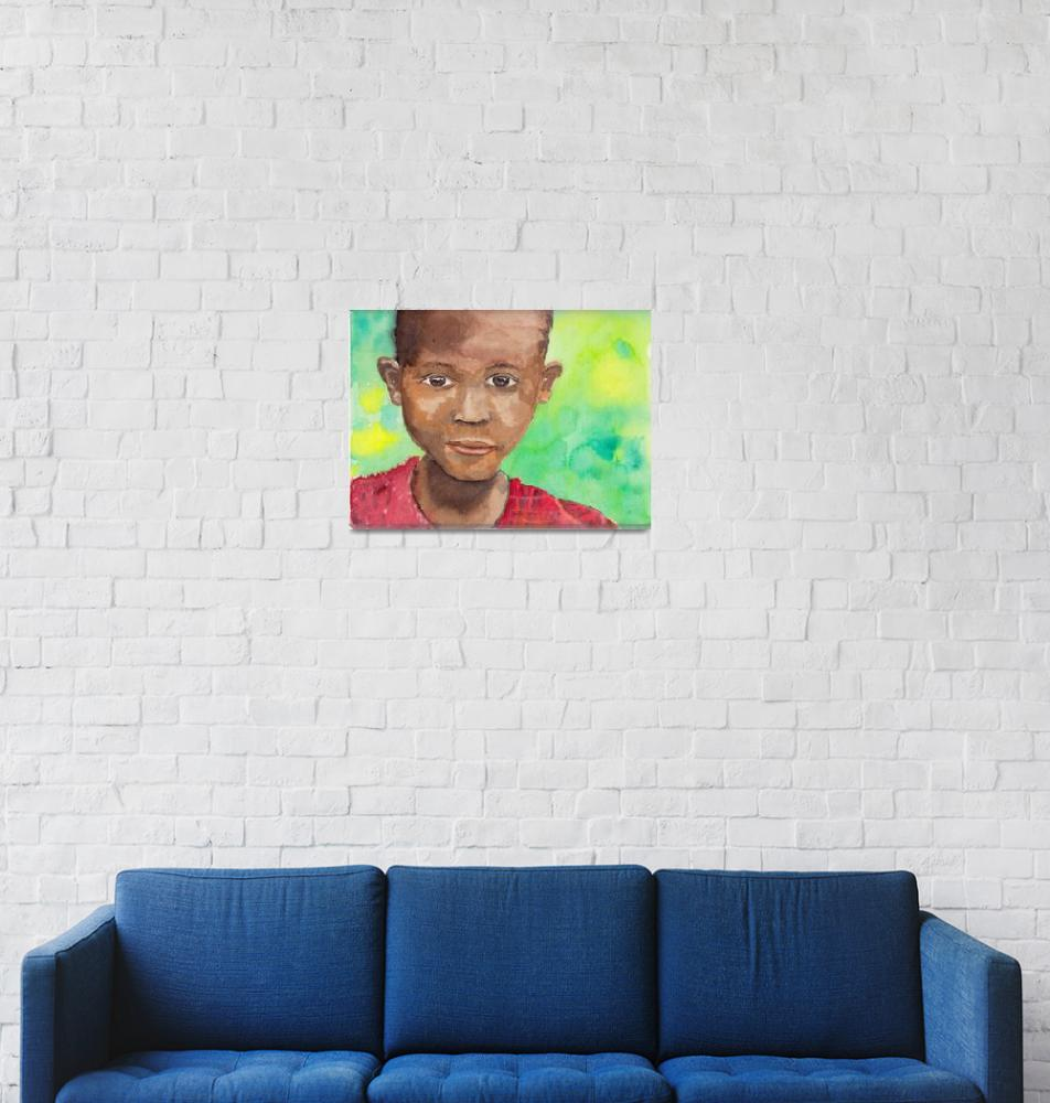 """""""Faces of Genocide: Hope""""  (2012) by MichaelFolta"""