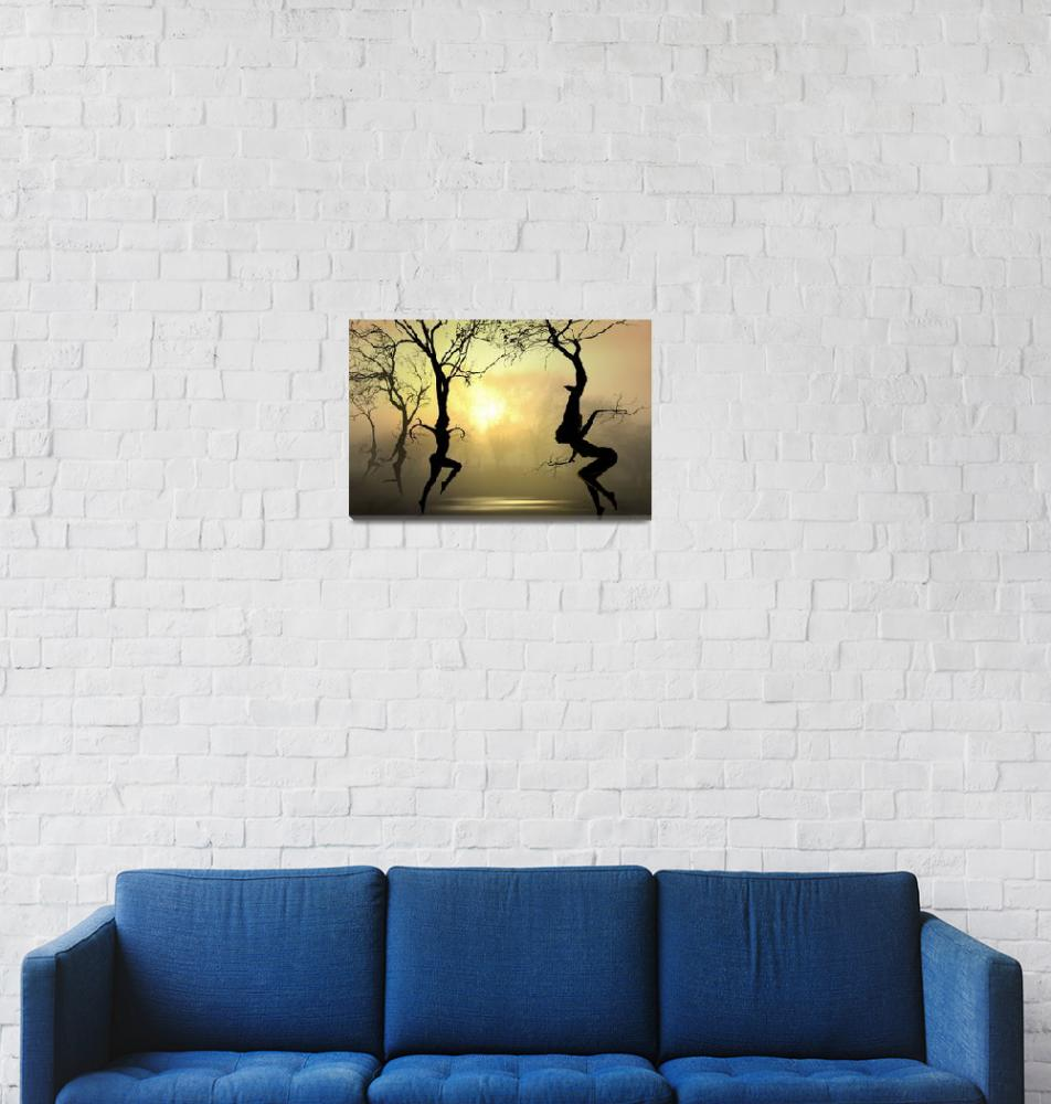 """""""Dancing Trees""""  (2009) by zenin"""