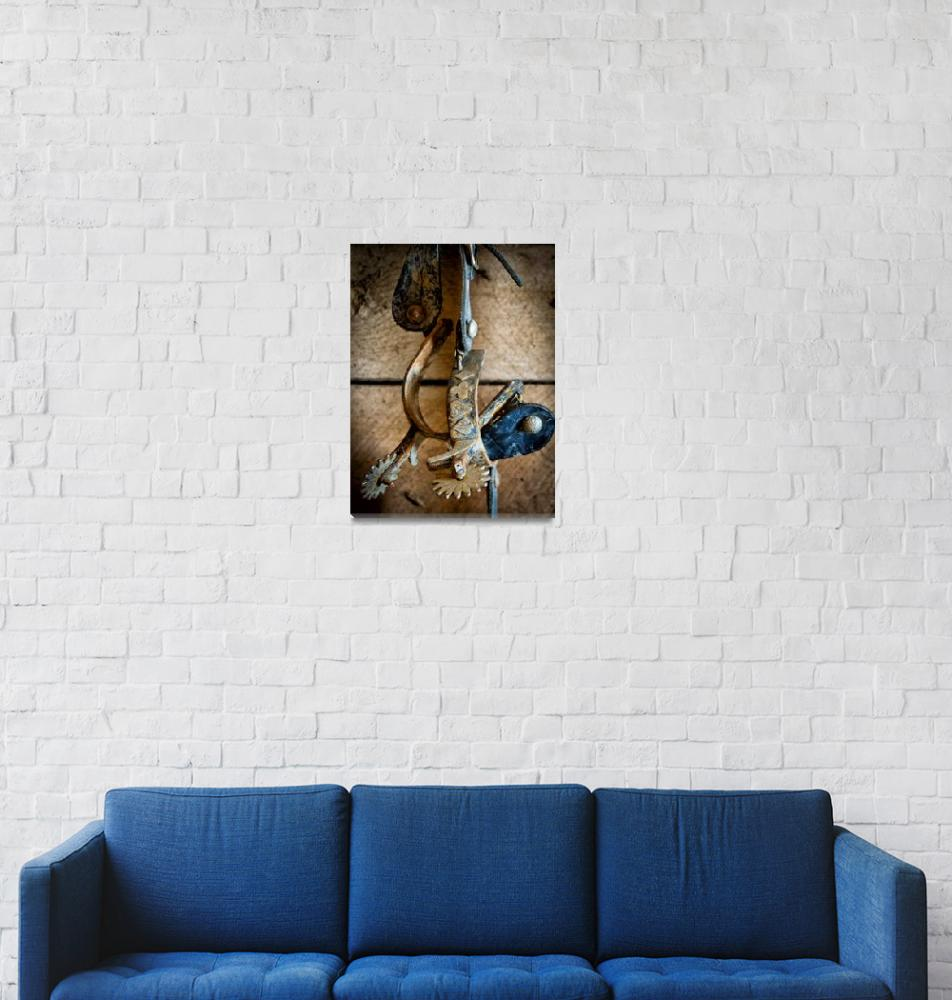 """""""Spurs on wall""""  (2012) by Inge-Johnsson"""