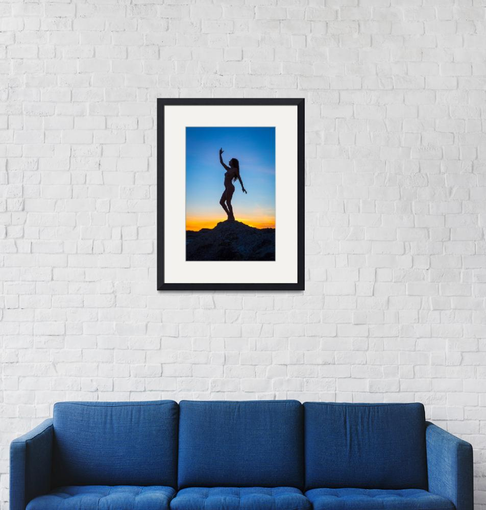 """""""Silhouette""""  (2015) by Inge-Johnsson"""