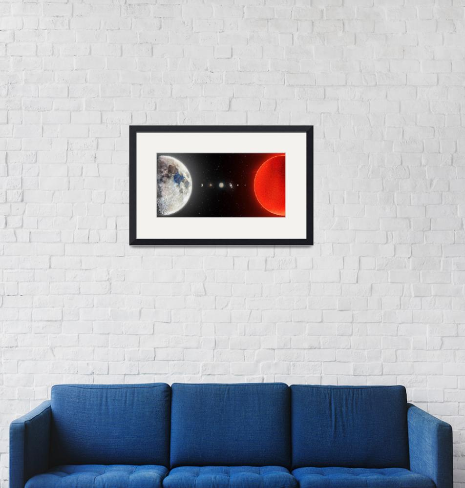 """""""Our Solar System in 2020"""" by cosmic_background"""