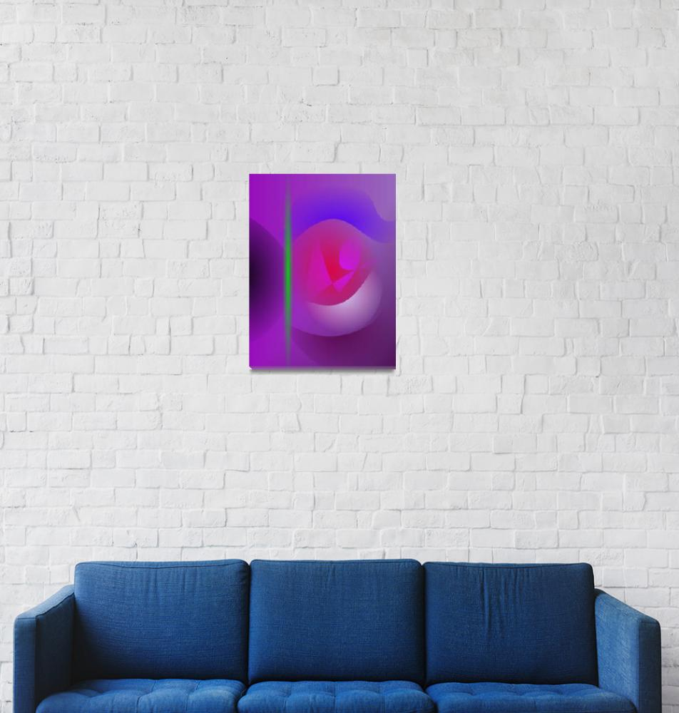 """Purple Dharma""  by masabo"