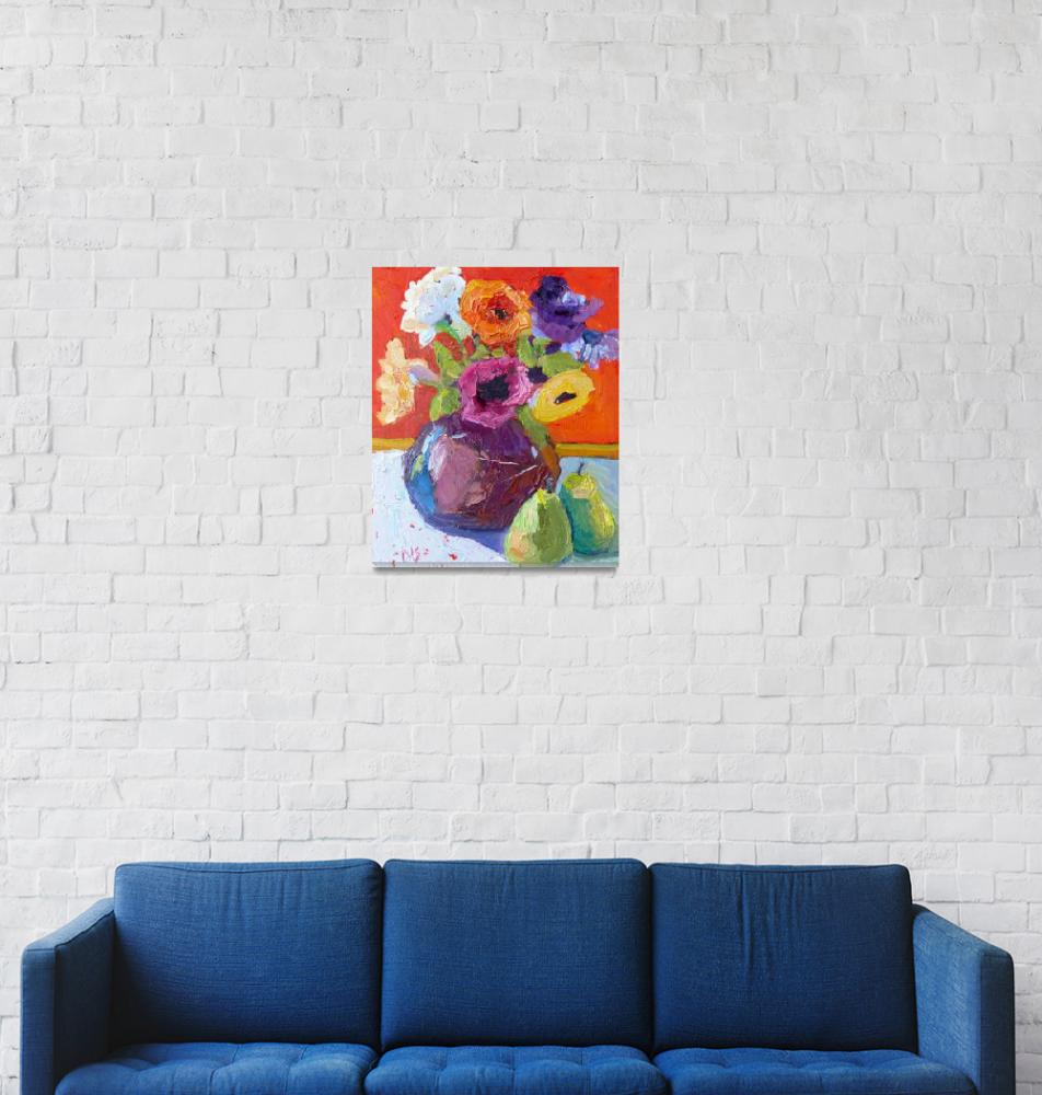"""Bouquets All Around 13025""  (2013) by NancyStandlee"