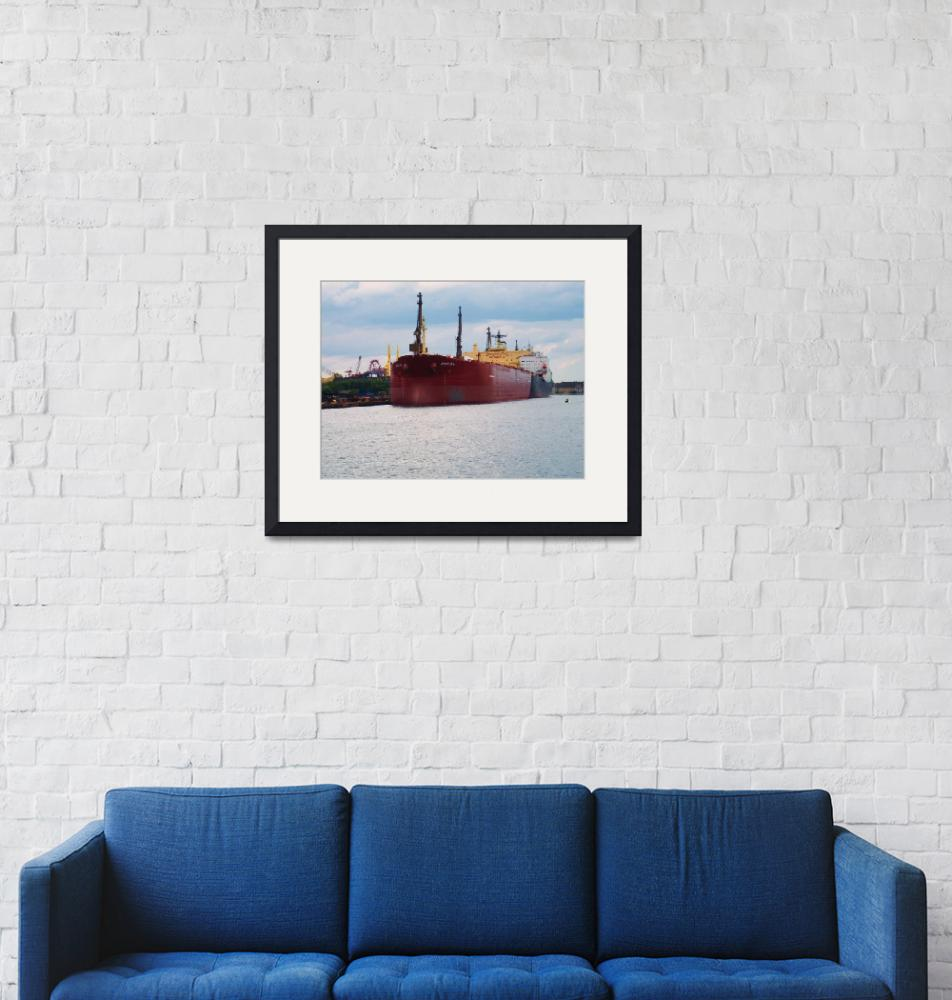 """""""Moscow Ship""""  (2008) by AnthroArt"""