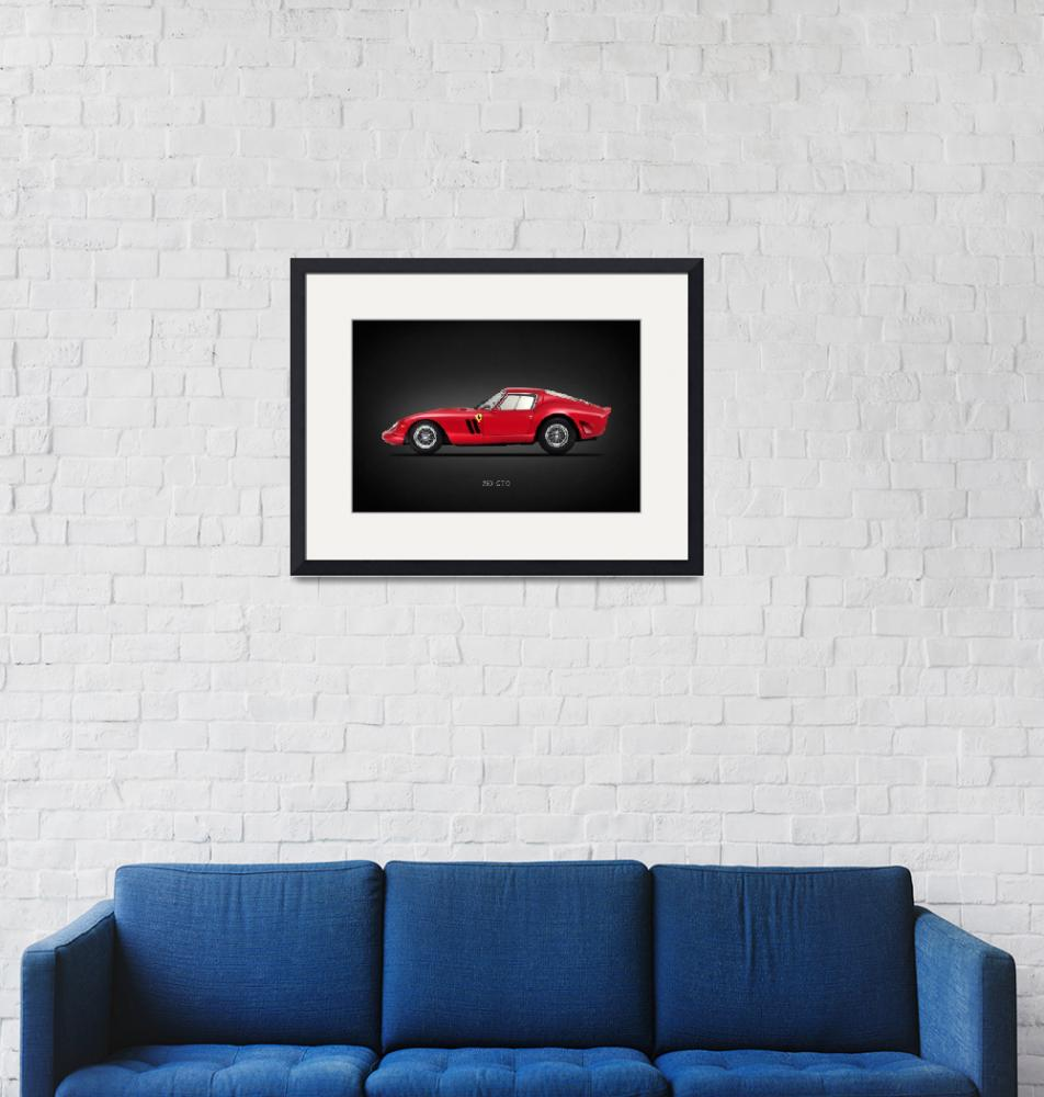 """Ferrari 250 GTO""  by mark-rogan"