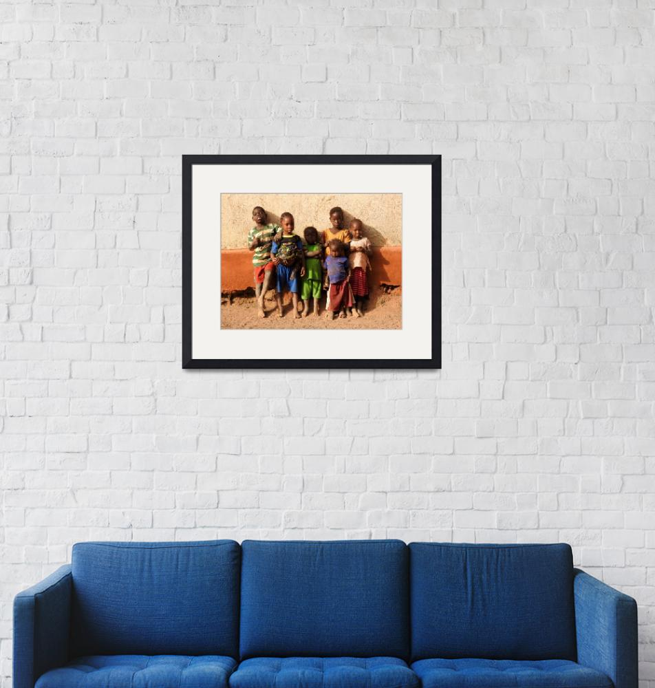 """""""Children & Wall""""  (2018) by makepeace"""