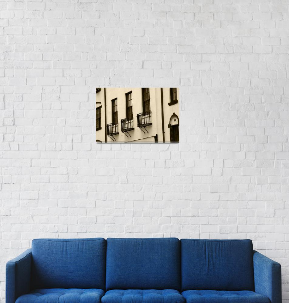 """Apartment Windows""  (2007) by athompson"