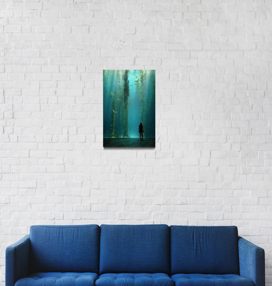 """Kelp Forest""  (2007) by ivanlo"