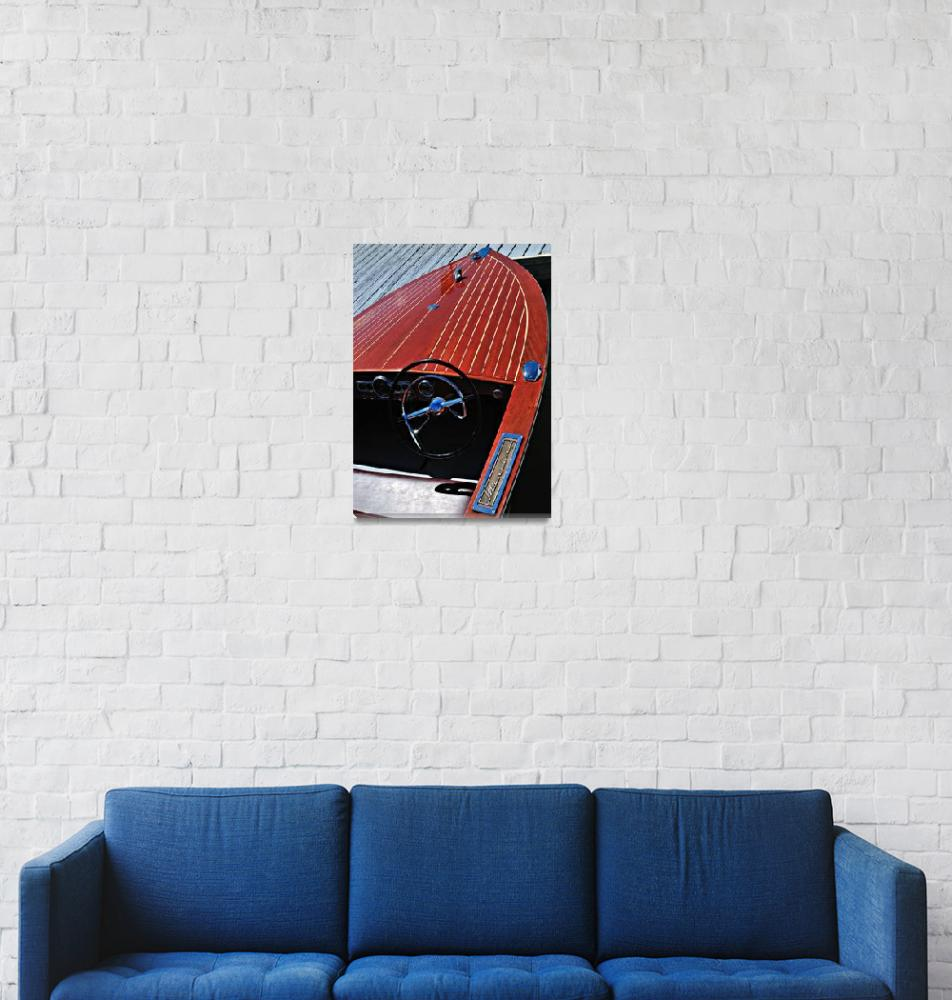 """Wood Boat classic 2""  (2009) by esfotoclix"