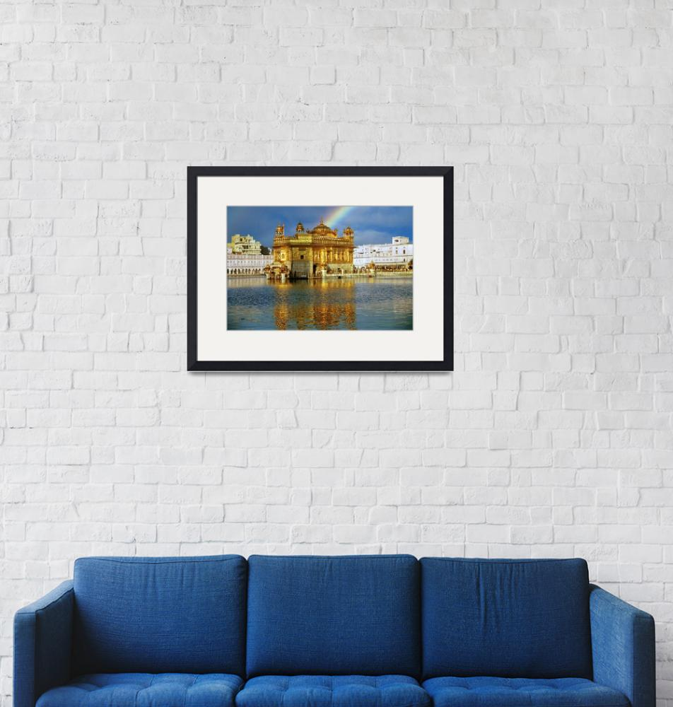 """""""Golden Temple Rainbow""""  by SikhPhotos"""