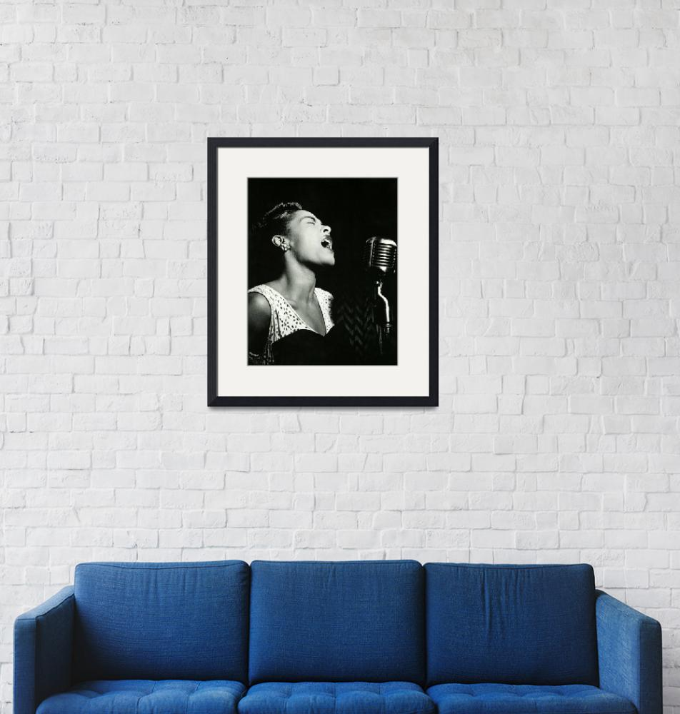 """""""Billie Holiday"""" by RetroImagesArchive"""