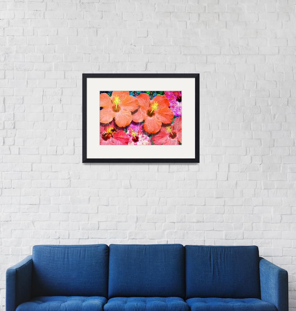 """""""Mixed Color Flowers""""  (2013) by JameyCunningham"""
