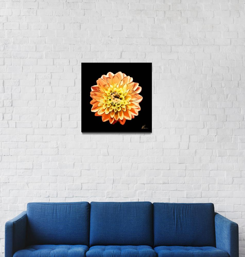 """""""Orange and Yellow Flower 