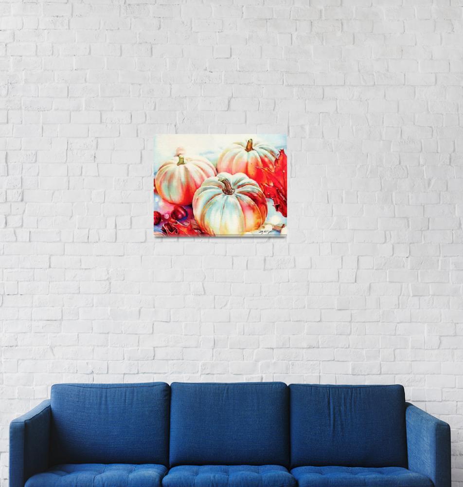 """""""Pumpkins"""" (2020) by KellyEddington"""