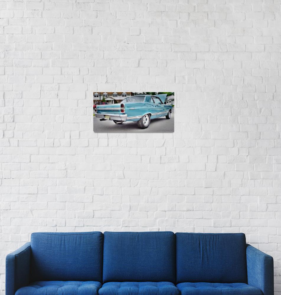 """""""Ford Fairlane 500""""  (2011) by tom-macpherson"""