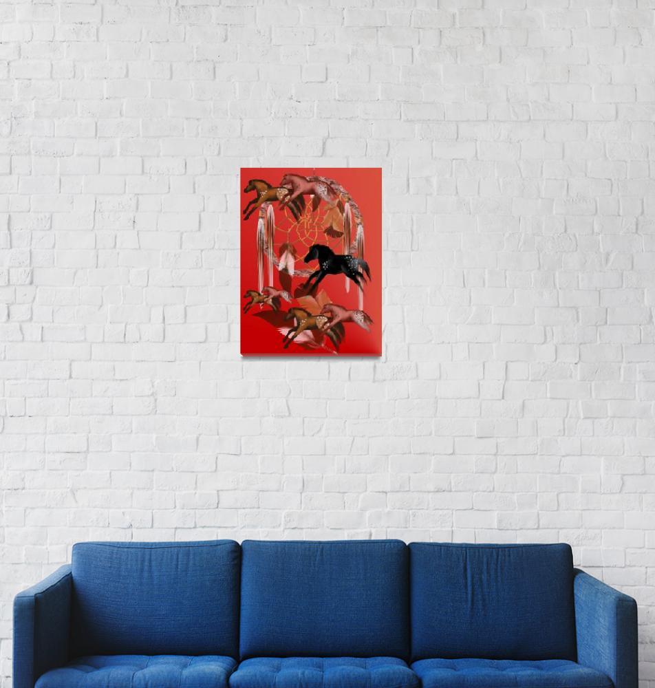 """""""Dream Horses""""  (2008) by Lotacats"""