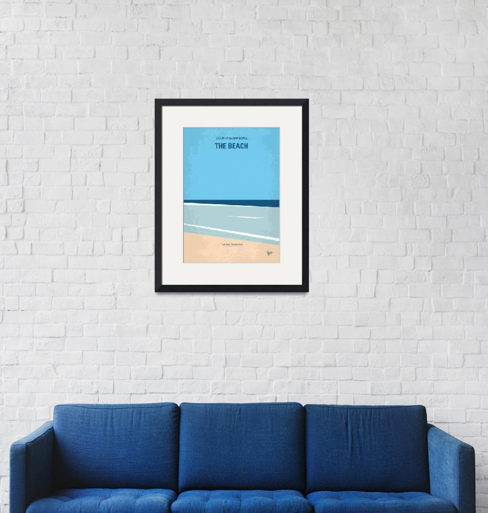 """No569 My The Beach minimal movie poster""  by Chungkong"