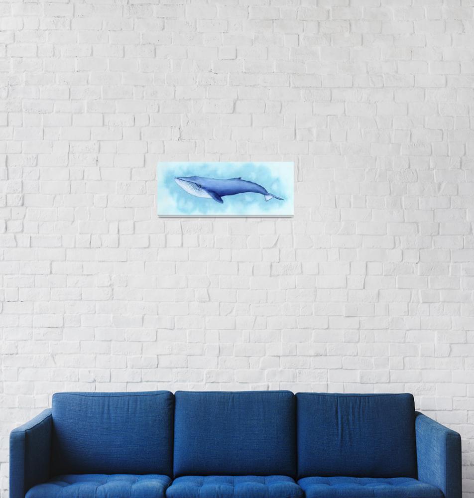"""Blue Whale"" (2018) by taylansoyturk"