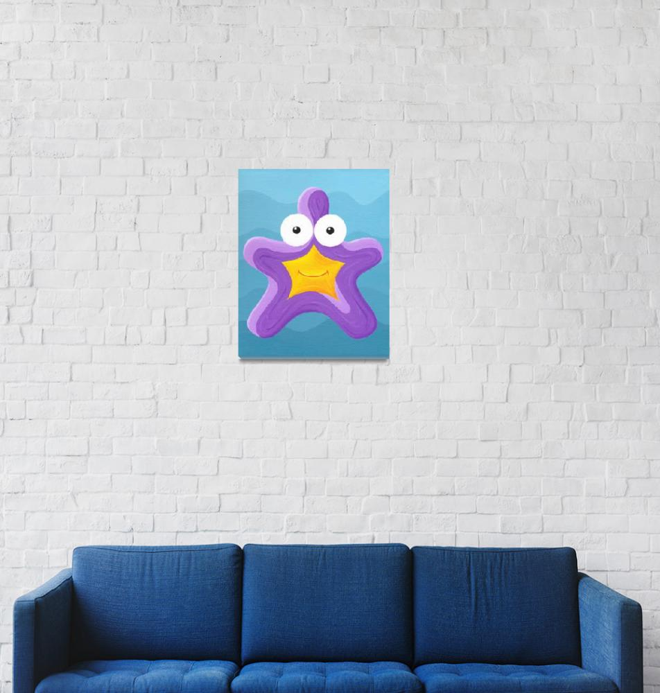 """""""Sea Smiles - Part2 - Starfish""""  (2010) by Fizzism"""