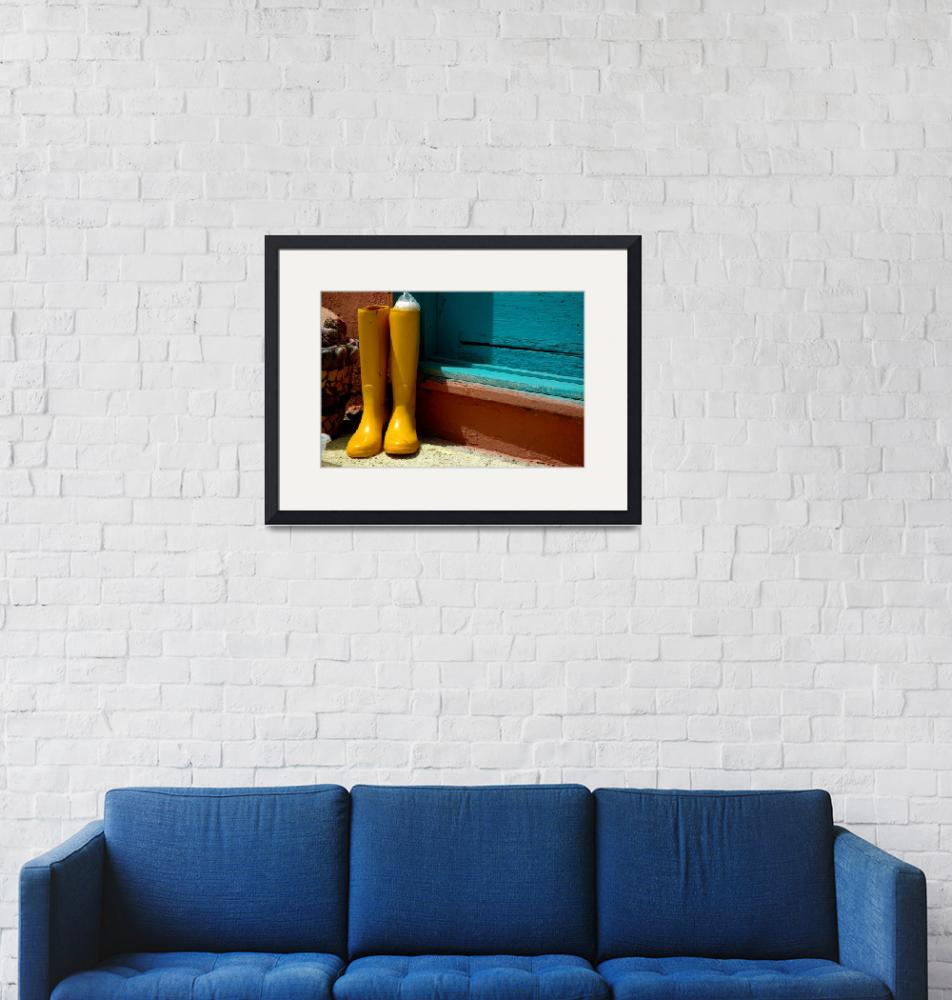 """""""Yellow Boots""""  (2009) by jwoodphoto"""