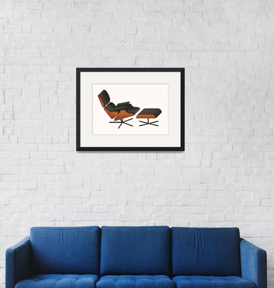 """""""Eames Lounger""""  (2009) by jamesprovost"""