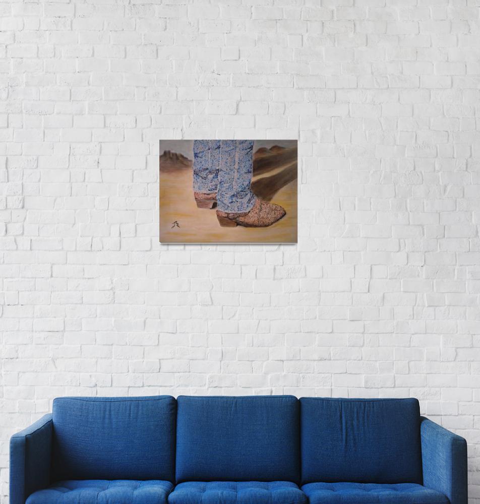 """These Boots - Jill Guntur""  (2010) by JillGuntur"