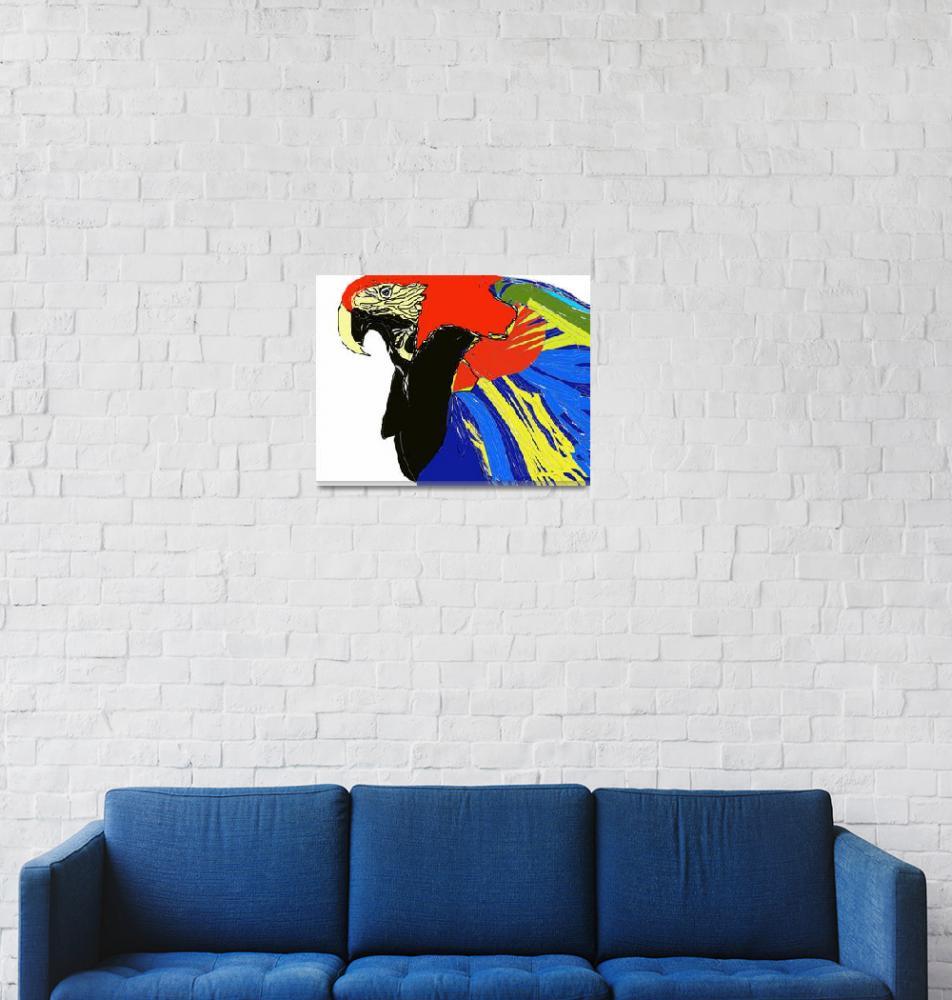 """""""Macaw""""  (2007) by MPMPatrick"""