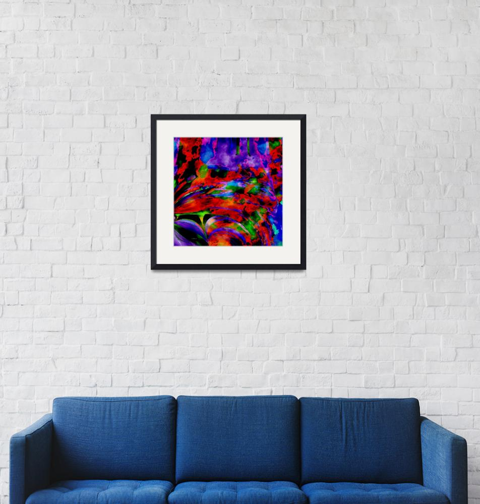 """""""purple flower overlay square""""  (2008) by shanmaree"""