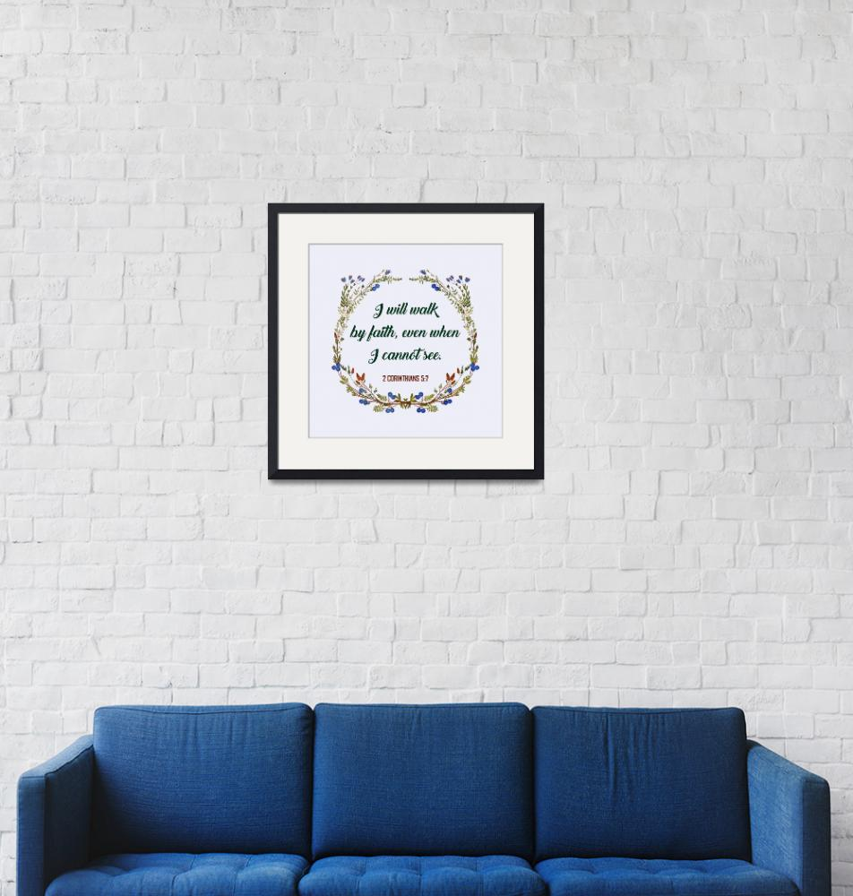 """BIBLE QUOTES ON BLUEBERRY WREATH-page-004""  by marymase"