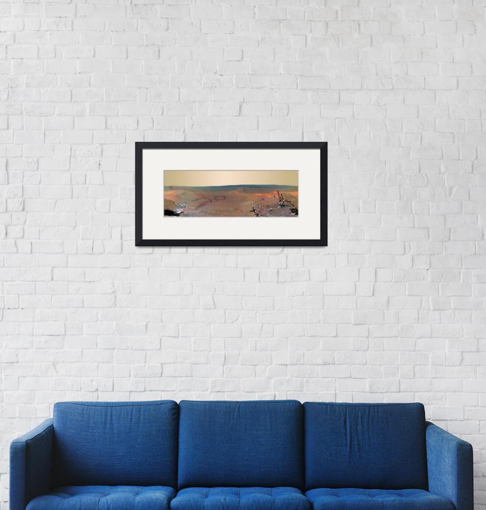 """""""Greeley Haven Panorama Mars Exploration Rover Oppo""""  by ArtHistory"""